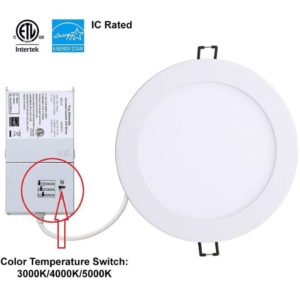 6inch Recessed Downlight 3CCT